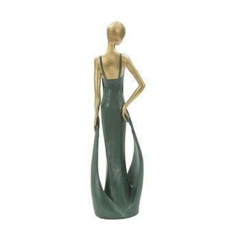 Statuetă decorativă din fier Mauro Ferretti Casino, verde smarald bonami.ro