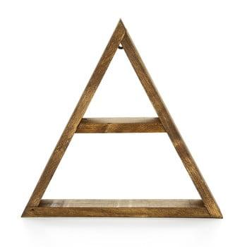 Raft din lemn pentru perete Evila Originals Geometric bonami.ro