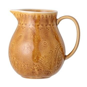 Cană carafă din gresie ceramică Bloomingville Rani,1,2l, galben bonami.ro