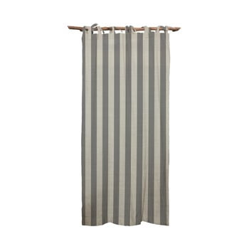 Draperie Linen Cuture Cortina Hogar Grey Stripes, gri bonami.ro