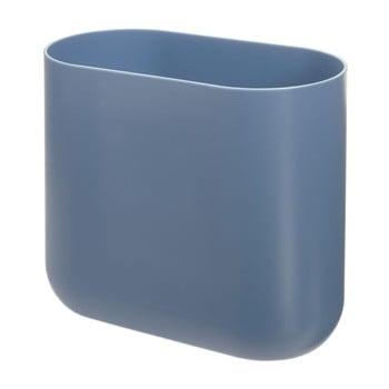 Coș de gunoi iDesign Slim Cade, albastru poza bonami.ro