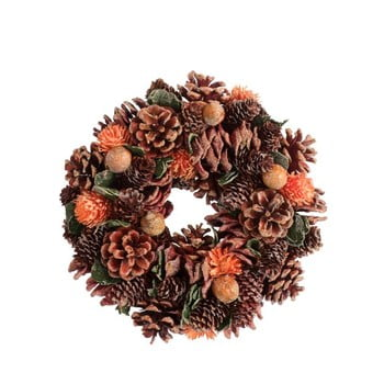 Coroniță cu conuri pentru Crăciun J-Line Pine bonami.ro