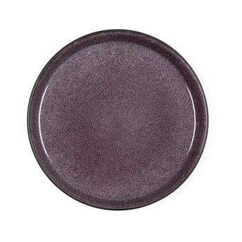 Farfurie din ceramică pentru desert Bitz Mensa, diametru 21 cm, violet prună poza bonami.ro