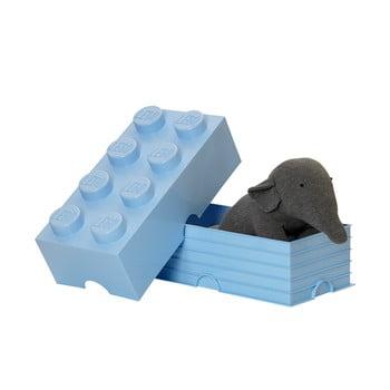 Cutie de depozitare LEGO®, albastru deschis bonami.ro