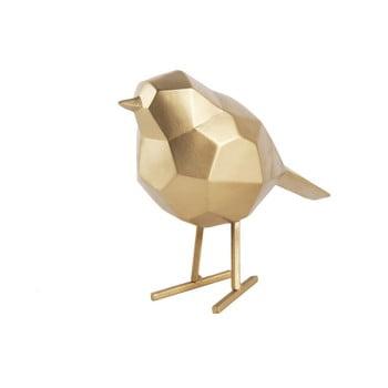 Statuetă PT LIVING Bird Small, auriu bonami.ro