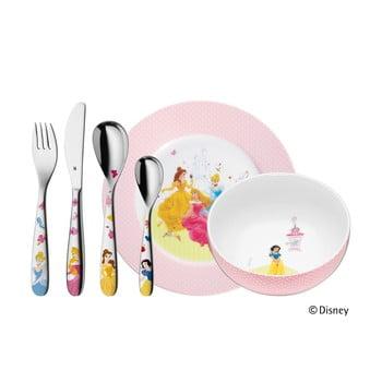Set 6 tacâmuri din inox și veselă pentru copii WMF Princess, bonami.ro