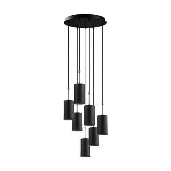 Lustră de 7 becuri Opviq lights Kem, negru imagine