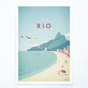 Poster Travelposter Rio, A2 bonami.ro
