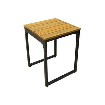 Set 2 scaune de grădină cu șezut din lemn de salcâm Ezeis Brick imagine