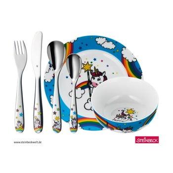 Set tacâmuri și veselă pentru copii WMF Unicorn bonami.ro