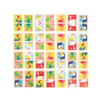 Domino din lemn pentru copii Legler Birds of the World poza bonami.ro