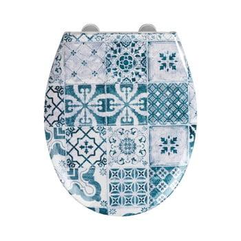 Capac WC cu închidere lentă Wenko Easy Ancient, 44,5 x 37 cm poza bonami.ro
