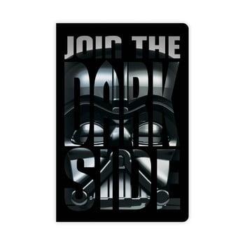 Caiet LEGO® Star Wars Darth Vader bonami.ro
