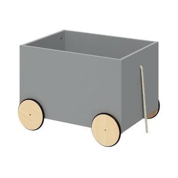 Cutie mobilă pentru jucării BELLAMY Lotta, gri bonami.ro