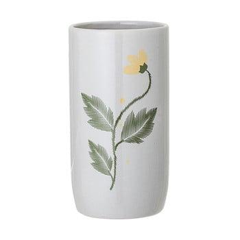 Vază din gresie ceramică Bloomingville Laburnum, gri bonami.ro