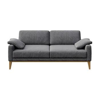 Canapea cu 2 locuri MESONICA Musso, cenușiu imagine