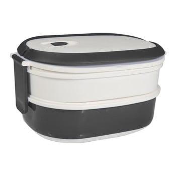 Cutie pentru gustare JOCCA Lunchbox, alb - gri bonami.ro