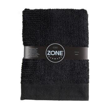 Prosop baie Zone Classic, 70 x 140 cm, negru
