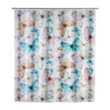 Perdea duș Wenko Butterfly, 180x200cm poza bonami.ro
