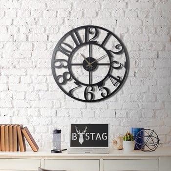 Ceas din metal pentru perete Clasic, 70 x 70 cm imagine