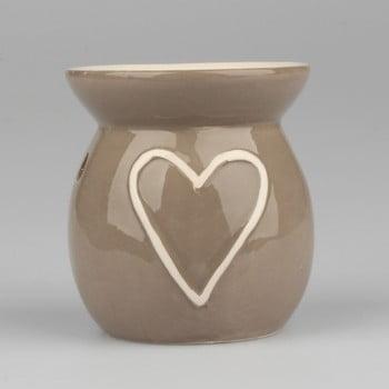 Lampă aromatică din ceramică Dakls Heart, înălțime 10cm bonami.ro