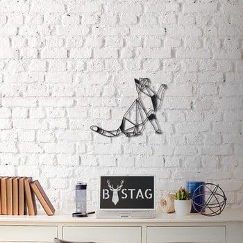 Decorațiune din metal pentru perete Kitty, 36 x 51 cm poza bonami.ro
