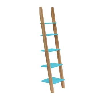Raft în formă de scară Ragaba ASHME, lățime 45 cm, turcoaz bonami.ro