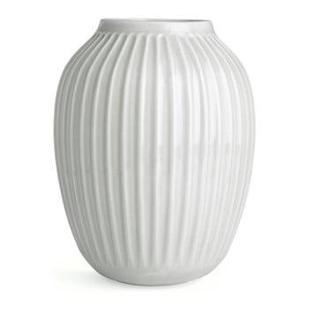 Vază din gresie Kähler Design Hammershoi, înălțime 25 cm, alb bonami.ro