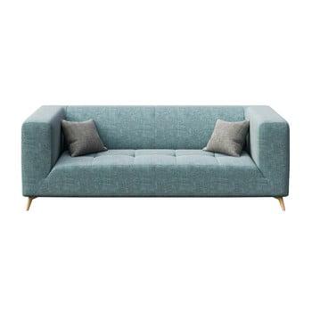 Canapea cu 3 locuri MESONICA Toro, albastru deschis imagine