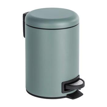 Coș de gunoi cu pedală Wenko Leman, 3 l, gri bonami.ro