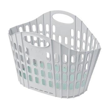 Coș de rufe pliabil Addis Flat Folding Laundry Basket, gri - verde bonami.ro