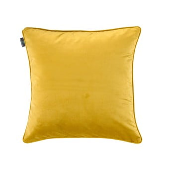 Față de pernă galbenă WeLoveBeds Dijon, 50 x 50 cm poza bonami.ro