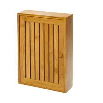 Suport din lemn de bambus pentru chei Unimasa , 19 x 27 cm bonami.ro