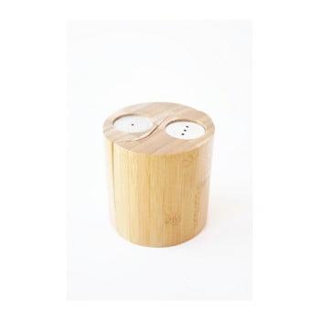Solniță și piperniță din bambus Bambum Ginger bonami.ro