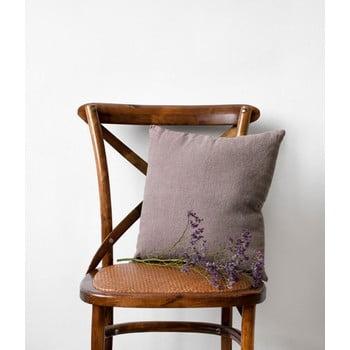 Față de pernă din in Linen Tales, 45 x 45 cm, violet purpuriu bonami.ro