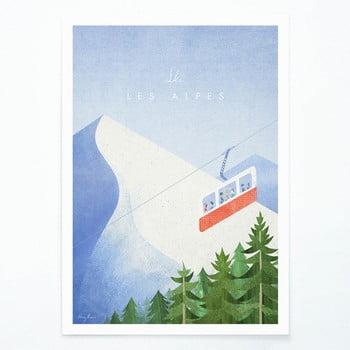 Poster Travelposter Les Alpes, A3 bonami.ro