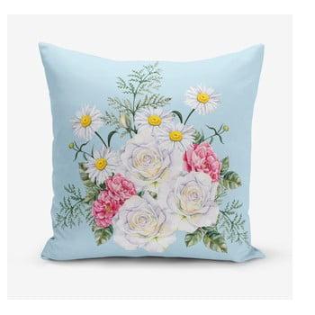 Față de pernă Minimalist Cushion Covers Flowerita, 45 x 45 cm bonami.ro