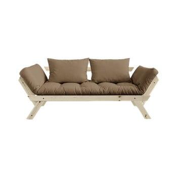 Canapea extensibilă Karup Design Bebop Natural/Mocca imagine