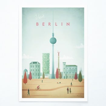Poster Travelposter Berlin, A2 bonami.ro