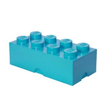 Cutie depozitare LEGO®, albastru azur bonami.ro