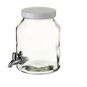Recipient din sticlă cu robinet Unimasa, 3,4 L bonami.ro
