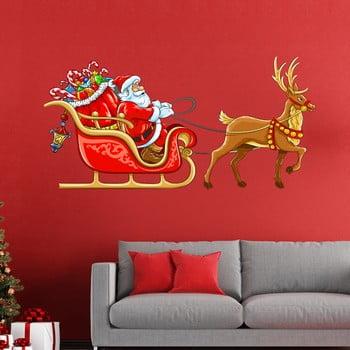 Autocolante Crăciun Ambiance Sur Son Traineau bonami.ro