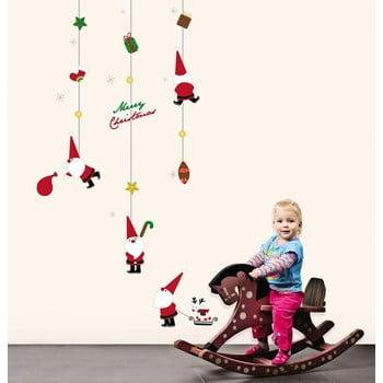 Autocolant Crăciun Ambiance Fathers Chritmas Toys poza bonami.ro