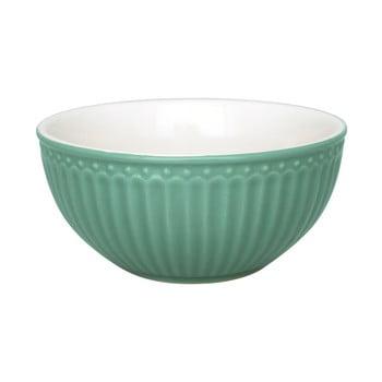 Bol din ceramică Green Gate Alice, ø 14 cm, verde închis bonami.ro