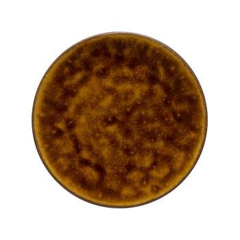 Platou din gresie ceramică Costa Nova Roda, ⌀ 22 cm, maro bonami.ro