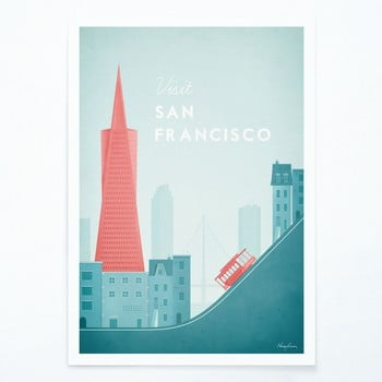 Poster Travelposter San Francisco, A3 bonami.ro