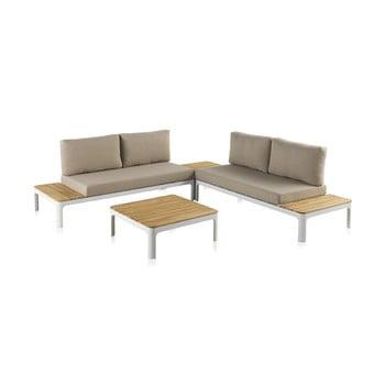 Set mobilier de grădină cu masă Geese Valentina bonami.ro