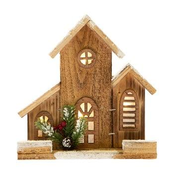 Căsuță decorativă din lemn cu lumină Dakls bonami.ro