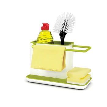 Suport pentru detergent de vase Joseph Joseph Caddy Sink Tidy, alb-verde bonami.ro