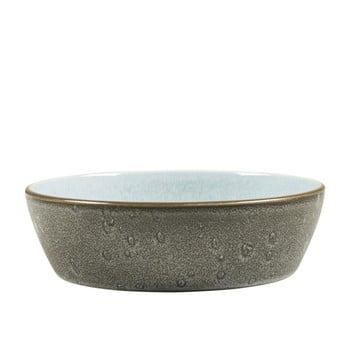 Bol din ceramică și glazură interioară albastru deschis Bitz Mensa, diametru 18 cm, gri poza bonami.ro